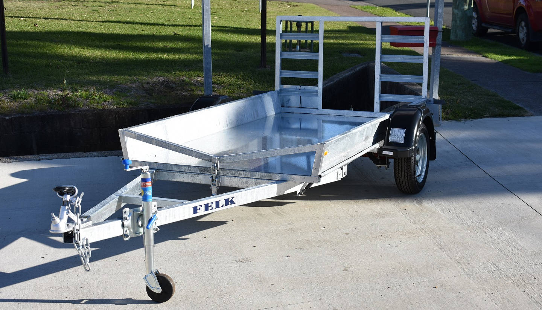 Felk Engineering Golf Cart Trailer
