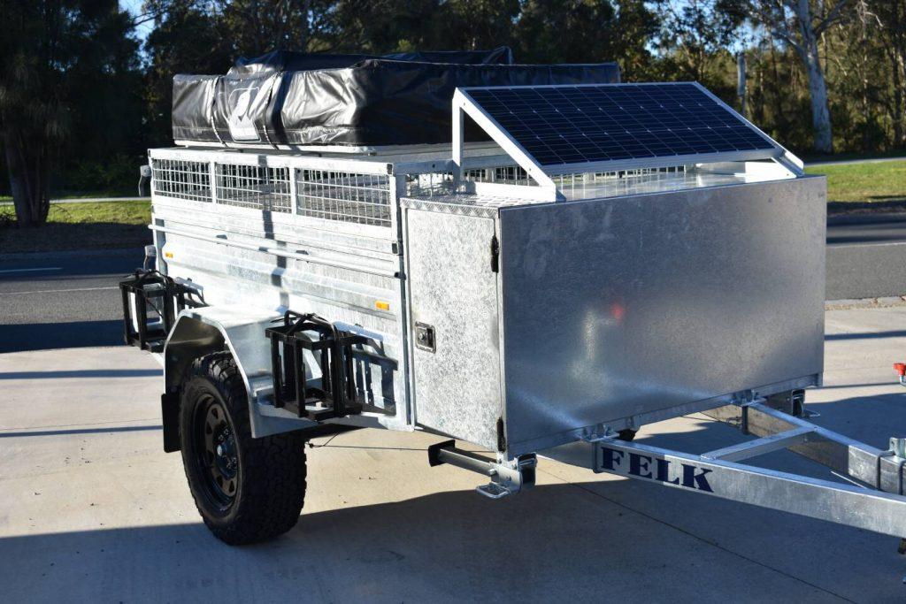 Felk Camper Trailer with Solar Panel